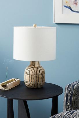 Anthropologie Zoya Table Lamp By in Black Size S