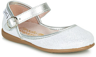 Citrouille et Compagnie JARITO girls's Shoes (Pumps / Ballerinas) in White