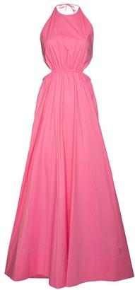 STAUD Apfel Halter Dress