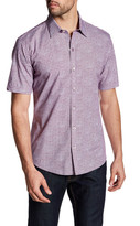 Zachary Prell Manning Short Sleeve Printed Shirt
