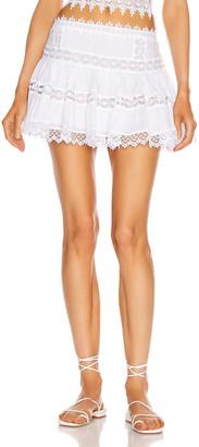 Charo Ruiz Ibiza Greta Skirt in White | FWRD