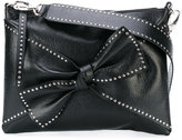 RED Valentino studded bow shoulder bag - women - Sheep Skin/Shearling/metal - One Size