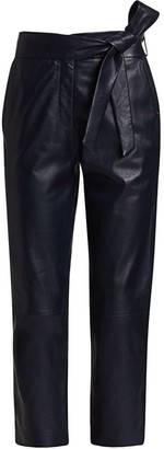 LTH JKT Bea Leather Cropped Pants