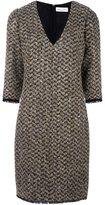 Sonia Rykiel bouclé fitted dress - women - Cupro/Virgin Wool/Mohair/Polyester - 40