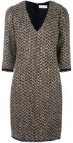 Sonia Rykiel bouclé fitted dress - women - Polyamide/Polyester/Cupro/Virgin Wool - 40
