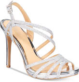 Badgley Mischka Humble Strappy Platform Evening Sandals