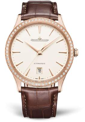 Jaeger-LeCoultre Jaeger Lecoultre Master Ultra Thin Date Diamond Watch 39mm
