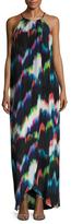 Trina Turk Presli Silk Printed Maxi Dress
