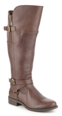 Gbg Los Angeles Hilight Wide Calf Riding Boot
