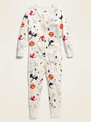 Old Navy Dragon-Print Pajama One-Piece for Toddler & Baby