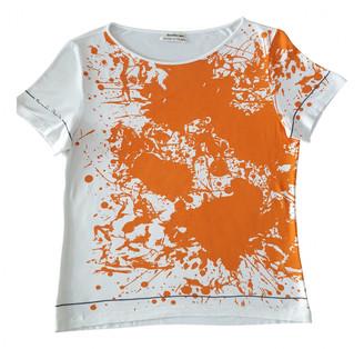 Hermes Orange Viscose Tops