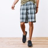 Roots Campbell Plaid Shorts