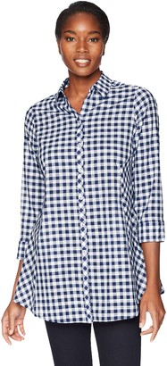 Foxcroft Women's Cici Gingham Tunic