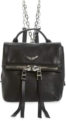 Zadig & Voltaire Romy Compact Leather Backpack