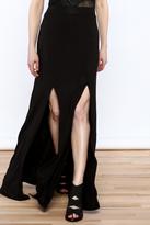 Hello Miss Black Maxi Skirt
