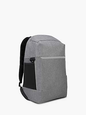 "Targus CityLite Security Backpack for Laptops up to 15.6"", Grey"