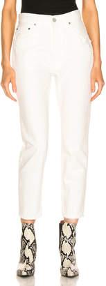 Moussy Vintage Bishop Boy Skinny in White | FWRD