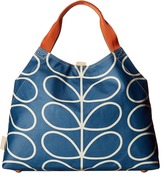 Orla Kiely Giant Linear Stem Large Holdall Handbags