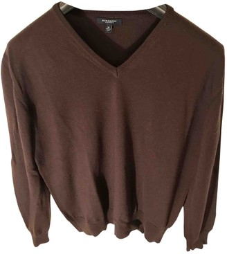 Burberry Burgundy Wool Knitwear & Sweatshirts