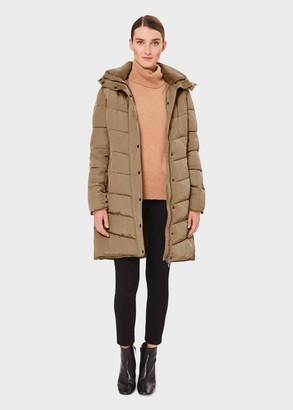 Hobbs Petite Lilian Puffer Jacket With Hood