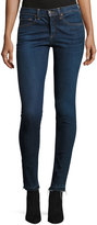 Veronica Beard Kate Raw-Hem Skinny Jeans