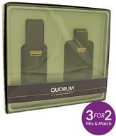 Antonio Puig Quorum 100ml EDT And 100ml Aftershave Gift Set