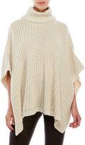Steve Madden Chunky Knit Poncho Sweater