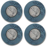 Mikasa Song Bird Set of 4 Coasters