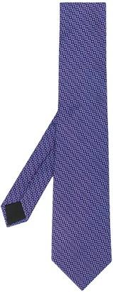 Lanvin Silk Floral-Print Tie