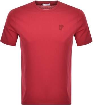 Versace Medusa Logo T Shirt Red