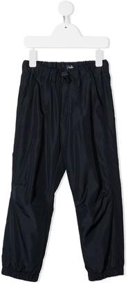 Il Gufo Drawstring-Waist Track Trousers