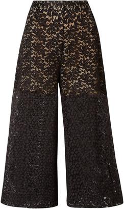 Stella McCartney Cotton-blend Corded Lace Culottes