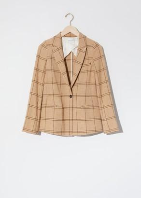 Forte Forte Glen Check Jacket