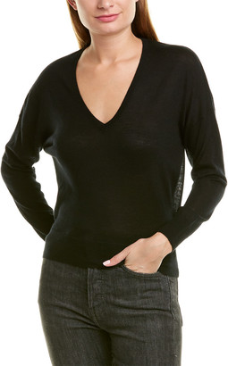 James Perse V-Neck Cashmere Sweater