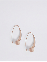 M&S Collection Ball Hoop Drop Earrings