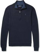 Polo Ralph Lauren - Cotton Half-Zip Sweater