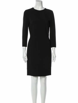Narciso Rodriguez 2014 Knee-Length Dress w/ Tags Black