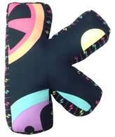 "One Grace Place Magical Michayla Letter Pillow ""K"" (12""X11"")"