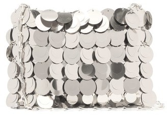 Paco Rabanne Sparkle 1969 Sequinned Shoulder Bag - Womens - Silver