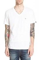 True Religion Men's Brand Jeans 'Contrast' V-Neck T-Shirt
