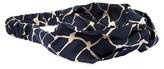 La-ta-da Fabric-Knot Navy Head Wrap 1 Count