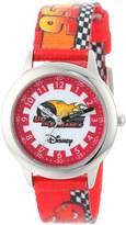 Disney Kids' W000091 Cars Stainless Steel Time Teacher Watch