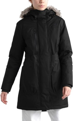 The North Face Downtown Faux Fur Hooded Down Parka