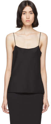 The Row Black Biggins Tank Top