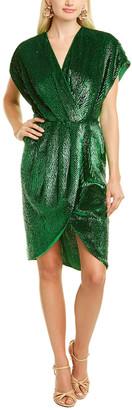 Elisabetta Franchi Sequin Sheath Dress