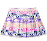 Epic Threads Geo-Print Pleated Skirt, Little Girls, Created for Macy's