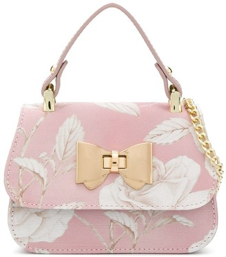 MonnaLisa Floral Shoulder Bag