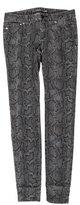 Michael Kors Printed Skinny Jeans