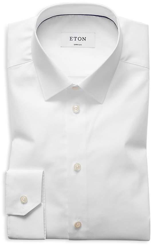 Eton of Sweden Twill Slim Fit Basic Dress Shirt