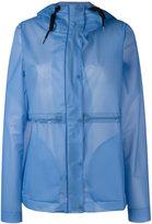 Hunter hooded raincoat - women - Polyurethane - S